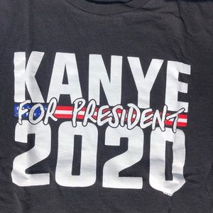 Tops - Kanye West for president tee shirt